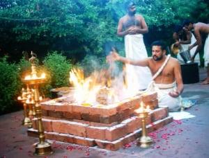 バラモン教におけるホーマ