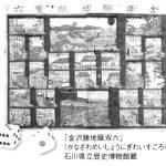 金沢勝地「町双六」(金沢宝泉寺からの眺望)