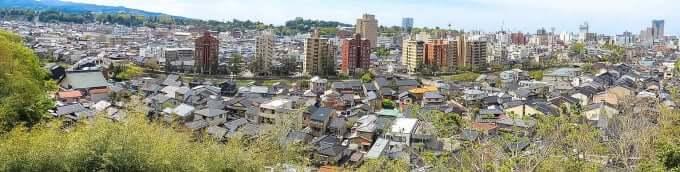 宝泉寺からの眺望