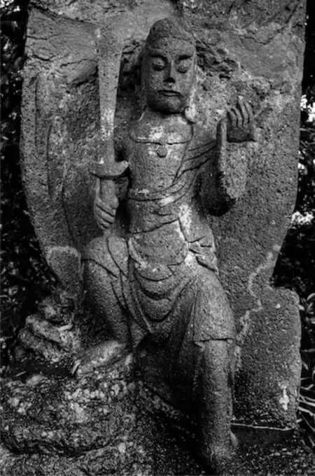不動明王(宝泉寺の石仏)