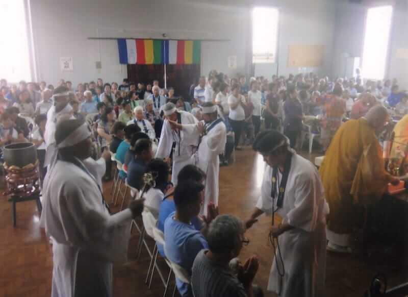 白着によるベンジメント(ご祈祷)