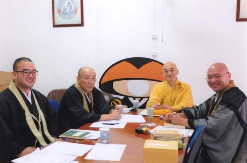 南米開教区ブラジル別院サンパウロ金剛寺で護摩の勉強会。