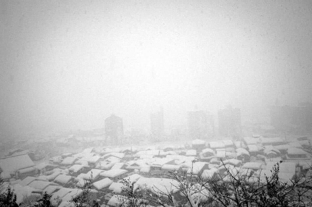 雪の金沢2018