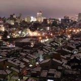 金沢の冬景色 宝泉寺からの眺め