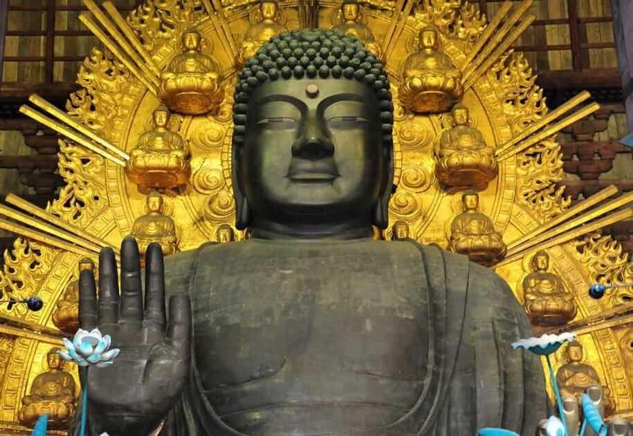奈良の大仏様(毘盧遮那仏)東大寺