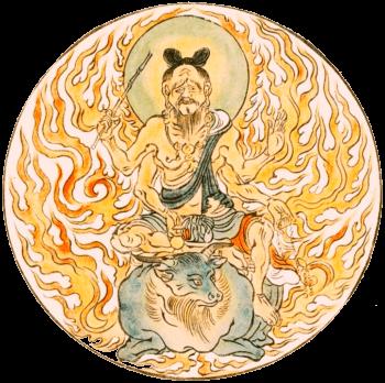 火天(『図像抄』第3巻、高野山円通寺)