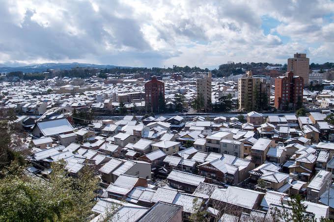 雪の金沢|2020年2月6日