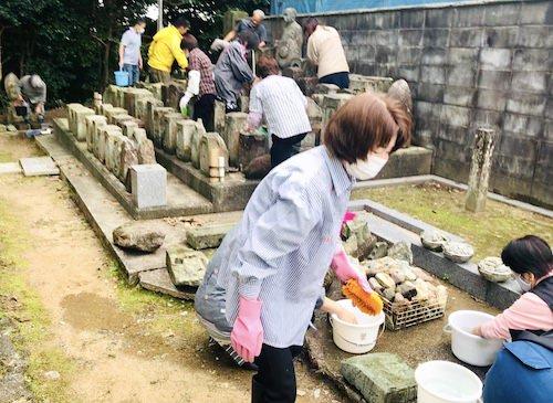 無縁墓の浄行(2020年10月4日)金沢宝泉寺