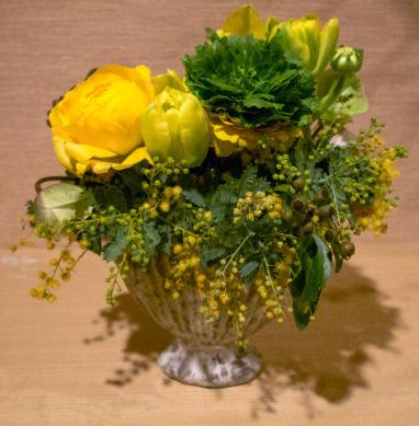 2021年2月3日立春大吉の花(西岡さんありがとうございます)